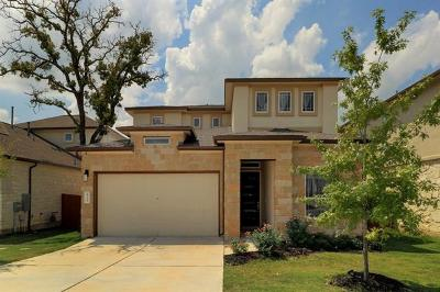 Cedar Park Single Family Home For Sale: 4114 Rainy Creek Ln
