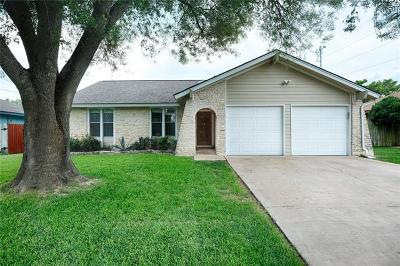 Georgetown Single Family Home For Sale: 1700 Golden Vista Dr