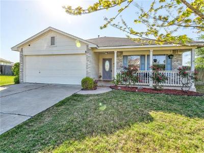 Hutto Single Family Home Pending - Taking Backups: 110 Musselman Ct