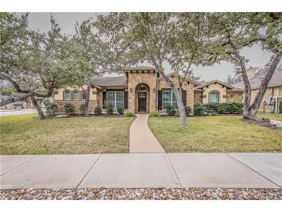 Cedar Park Single Family Home Pending - Taking Backups: 117 Shady Trails Pass