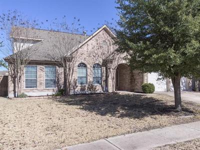 Manor Single Family Home For Sale: 13729 Shady Ridge Ln