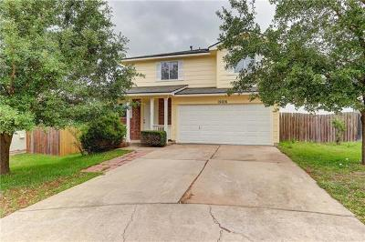 Austin Single Family Home For Sale: 15106 Nuttall Dr