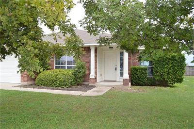 Round Rock Single Family Home For Sale: 2634 Pearson Way