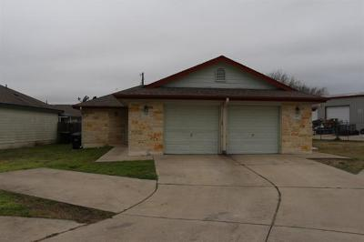 Hutto Multi Family Home For Sale: 243-245 Marvin Cv