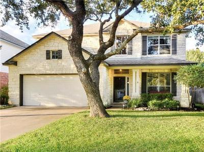 Round Rock Single Family Home For Sale: 3768 Turetella Dr