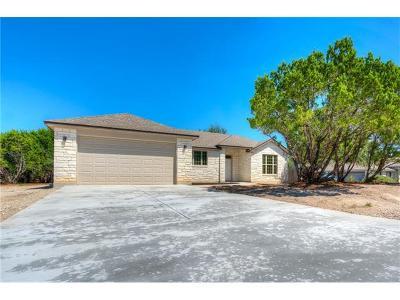 Lago Vista Single Family Home For Sale: 6200 Pokealong Path