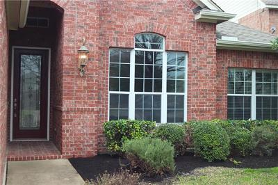 Round Rock Single Family Home Pending - Taking Backups: 105 Bob Estes Cv