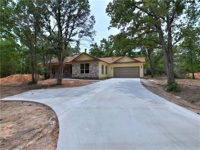 Bastrop County Single Family Home Active Contingent: 207 Blanket Flower Dr