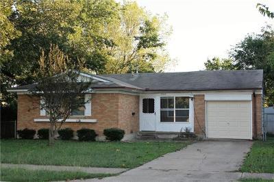 Killeen TX Single Family Home For Sale: $85,000