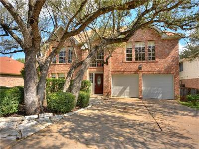 Round Rock Single Family Home For Sale: 17845 Park Valley Dr