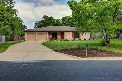 Austin Single Family Home For Sale: 11506 Eubank Dr