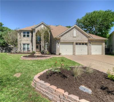 Round Rock Single Family Home For Sale: 2103 Bent Tree Ct