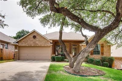 Travis County, Williamson County Single Family Home Active Contingent: 9813 Savannah Ridge Dr