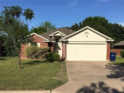 Single Family Home For Sale: 510 Clear Spring Ln