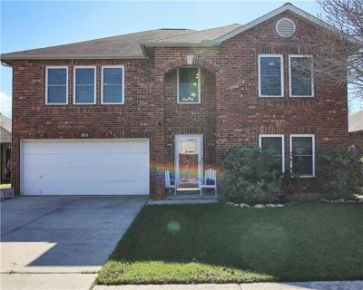Cedar Park Single Family Home For Sale: 606 Brazil Dr