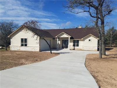 Bastrop County Single Family Home Active Contingent: 110 Lightfoot Trl