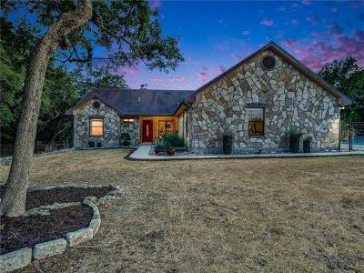 Wimberley Single Family Home For Sale: 850 Saddleridge Dr