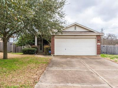 Pflugerville Single Family Home For Sale: 905 Sally Lunn Way