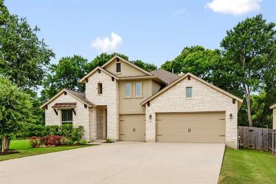 Cedar Park Single Family Home For Sale: 1703 Manada Trl