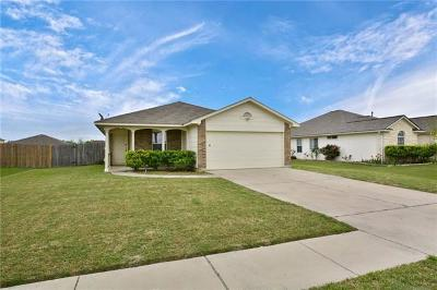 Hutto Single Family Home Pending: 315 McCoy Ln