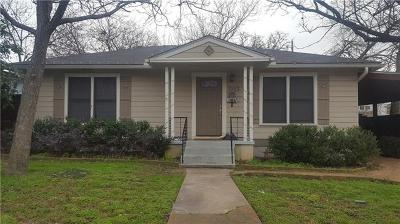 Austin Single Family Home For Sale: 1903 W 32nd St