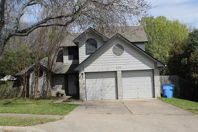 Austin Rental For Rent: 2102 Warfield Way