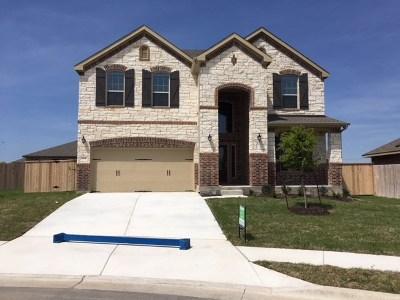 Round Rock Single Family Home For Sale: 1104 Jillian Court