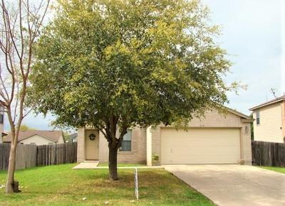 Kyle Single Family Home For Sale: 179 Retama