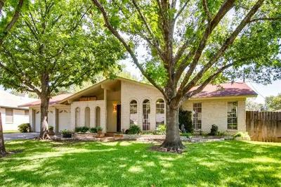 Travis County Single Family Home Pending - Taking Backups: 2706 Benbrook Dr
