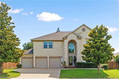 Austin Single Family Home Pending - Taking Backups: 9908 Pumpkin Ridge Ct