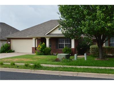 Round Rock Rental For Rent: 8128 Campeche Bay Pl
