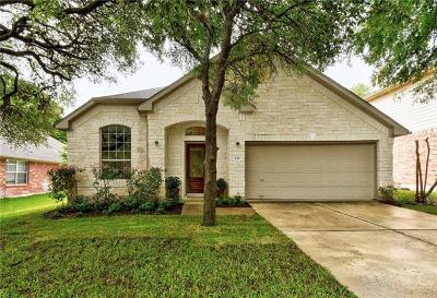 Buda Single Family Home For Sale: 145 Clarence Ct