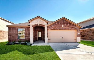 Manor Single Family Home For Sale: 13712 Charles W. Fairbanks Cv