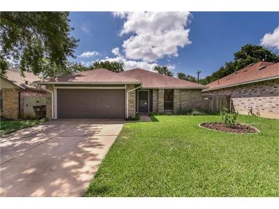 Round Rock Single Family Home For Sale: 805 Saunders Dr