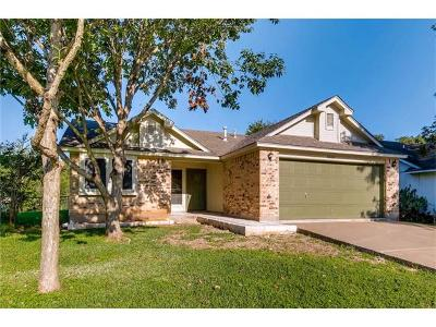 Hays County, Travis County, Williamson County Single Family Home Pending - Taking Backups: 5008 Canella Dr