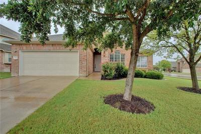 Pflugerville Single Family Home For Sale: 2412 Pauma Valley Way