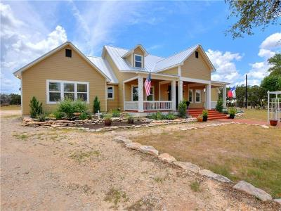 Wimberley Single Family Home For Sale: 941 D Sandy Point Rd