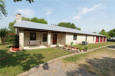 Buda Single Family Home For Sale: 1401 Hillside Ter