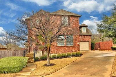 Round Rock Single Family Home For Sale: 1020 Mesquite Hollow Pl