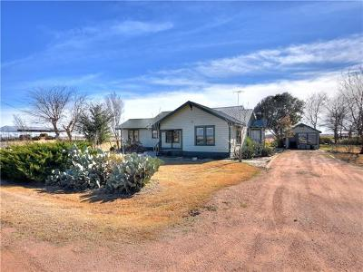 Williamson County Single Family Home Pending - Taking Backups: 30 County Road 353