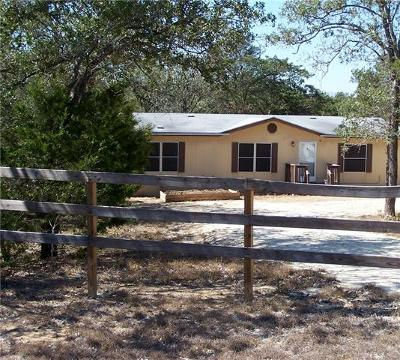Cedar Creek Mobile/Manufactured For Sale: 541 High View Ranch Dr