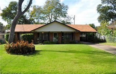 Austin Single Family Home For Sale: 4910 Lansing Dr