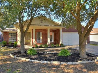 Leander Single Family Home For Sale: 17518 Port Hood Dr
