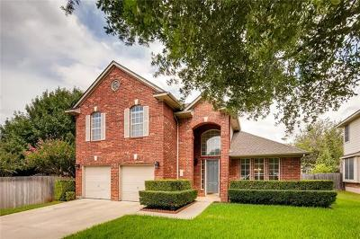 Pflugerville Single Family Home For Sale: 20106 Canterwood Ln