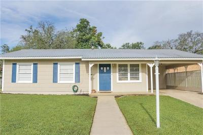 Lampasas Single Family Home Pending - Taking Backups: 214 S Rice St