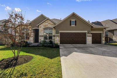 Cedar Park Single Family Home For Sale: 3110 Palominos Pass