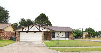 Killeen TX Single Family Home For Sale: $70,000