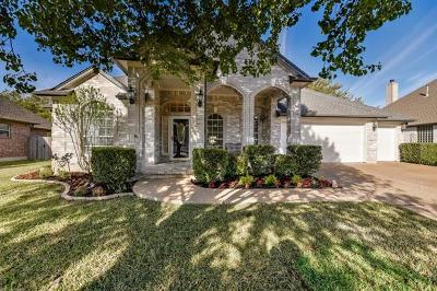 Round Rock Single Family Home For Sale: 16630 Malaga Hills Dr