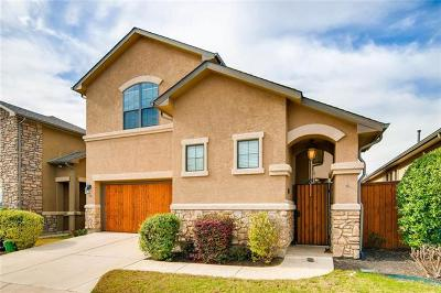 Round Rock Condo/Townhouse For Sale: 4332 Teravista Club Dr #27
