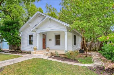 Travis County Single Family Home Pending - Taking Backups: 913 Shelley Ave